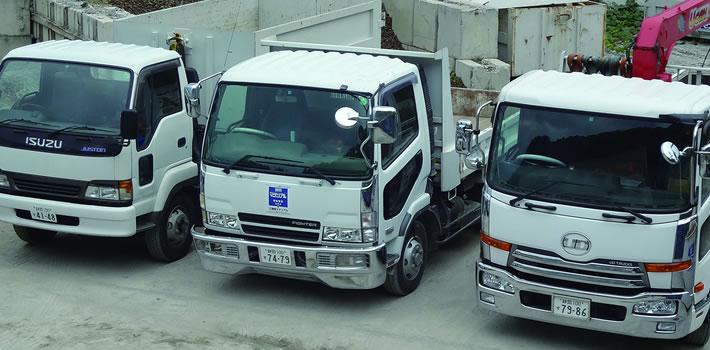 静岡マテリアル:収集運搬車